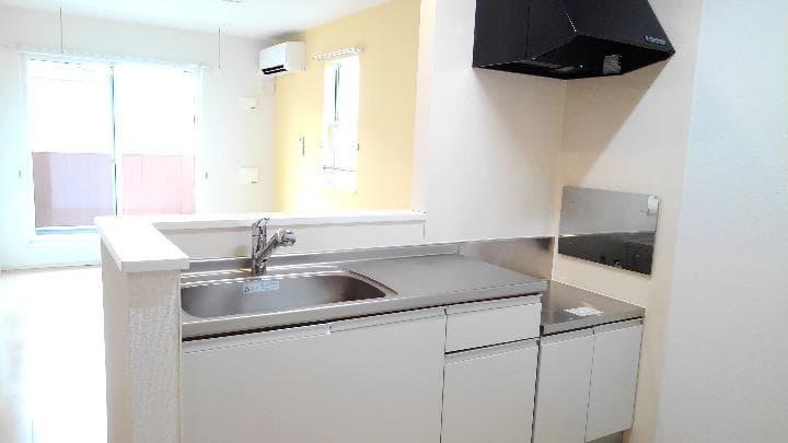 メルティングポット加須 02050号室のキッチン