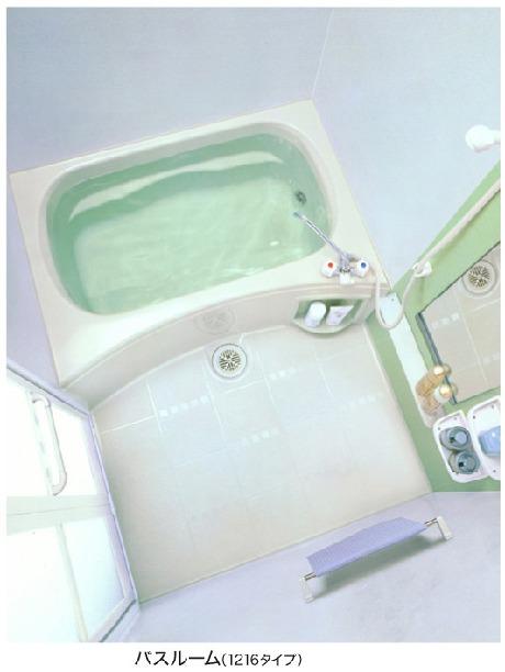 ガーデン霞 01060号室の風呂