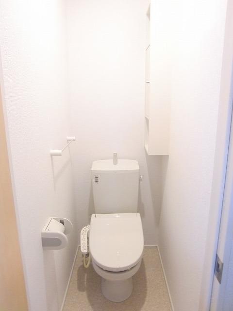 N.グラシオッソ トレス 01020号室のトイレ