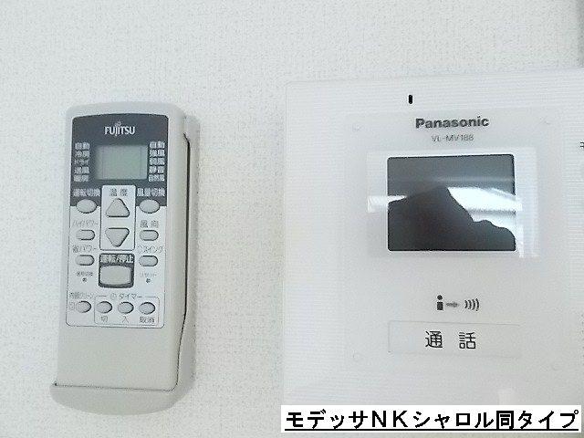 エスポアール 01010号室のセキュリティ