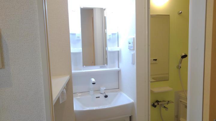 エスポアール 01020号室の洗面所