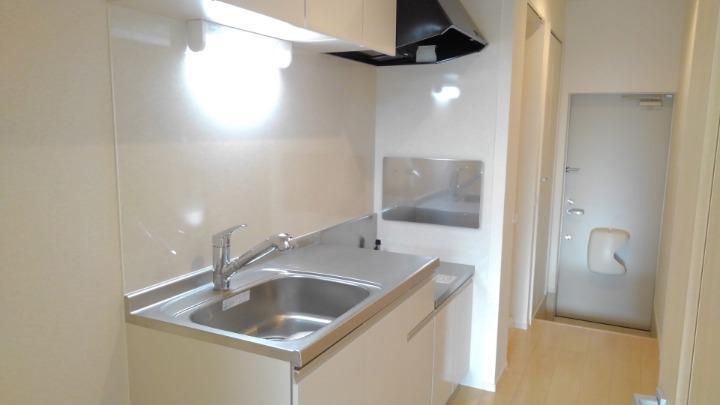 エスポアール 01030号室のキッチン