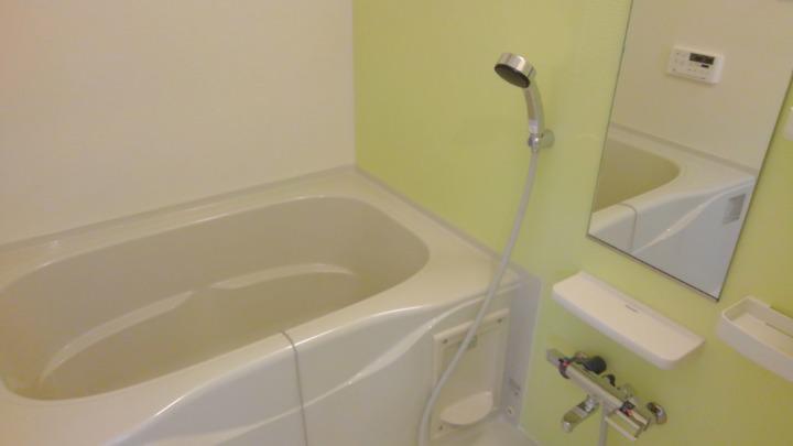 エスポアール 01030号室の風呂