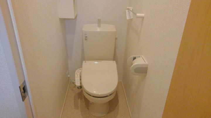 エスポアール 01030号室のトイレ
