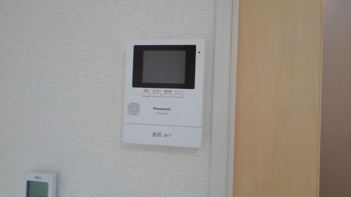 エスポアール 01030号室のセキュリティ