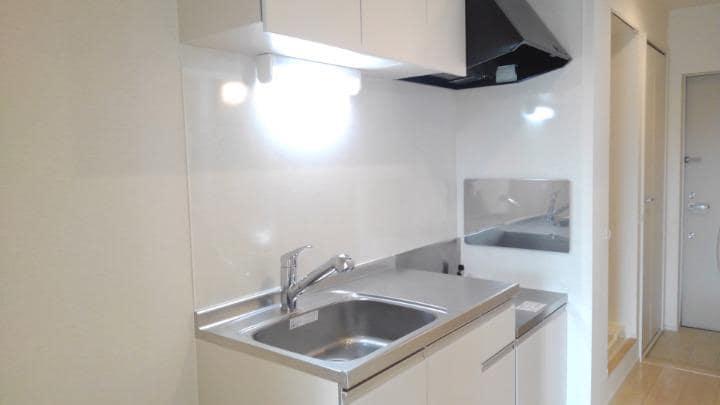 エスポアール 02010号室のキッチン