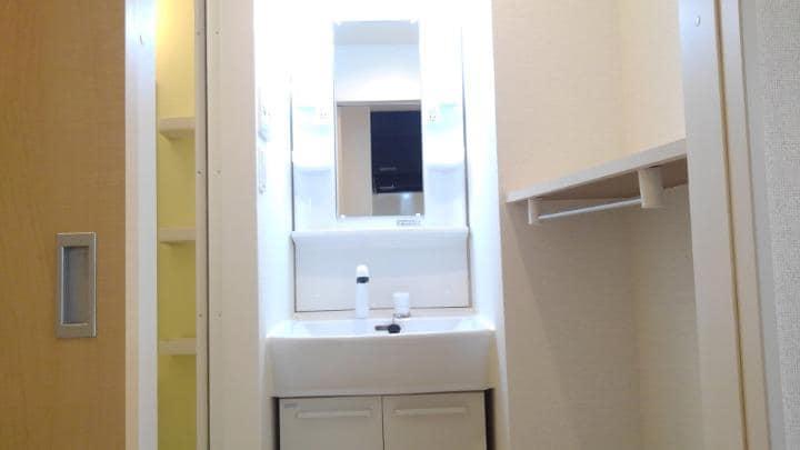 エスポアール 02010号室の洗面所