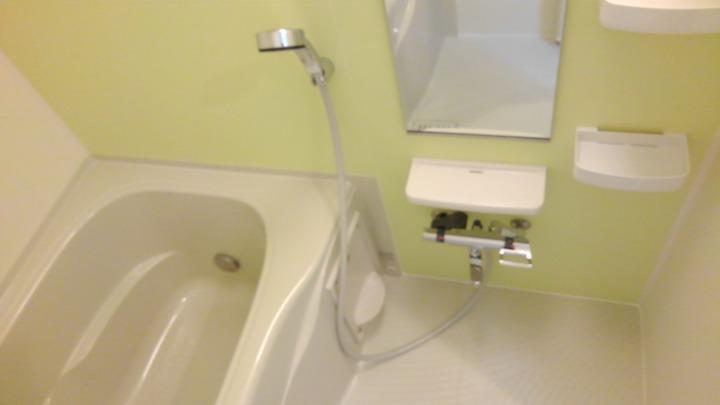 エスポアール 02030号室の風呂