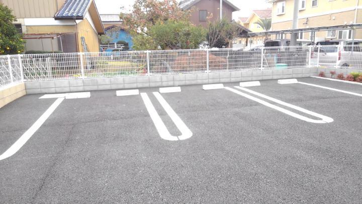 エスポアール 02030号室の駐車場
