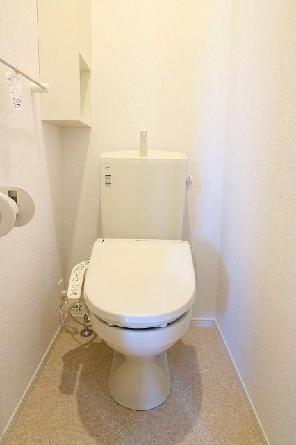 レクタ加須 02020号室のトイレ