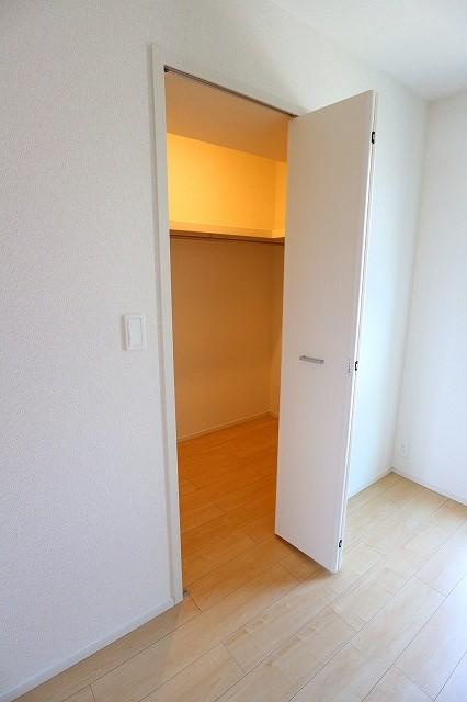 レクタ加須 02020号室の収納