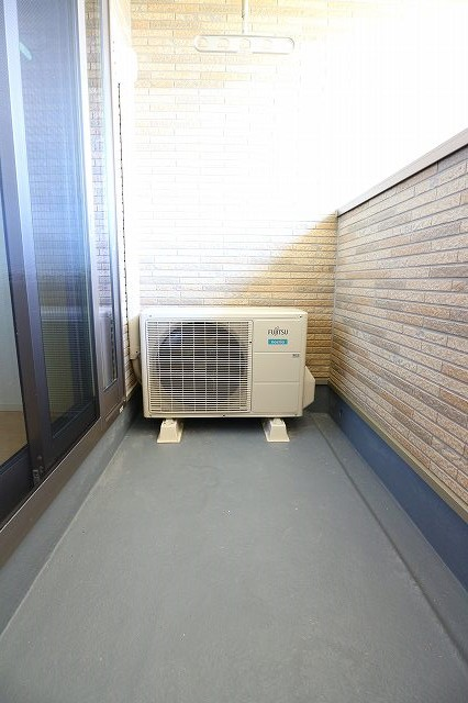 レクタ加須 02020号室のバルコニー