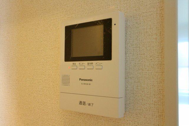レクタ加須 02020号室のセキュリティ