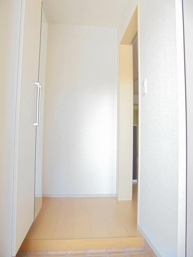 ピースフルA 01030号室の玄関