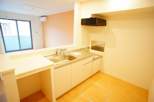 ガーデンハウスM 01030号室のキッチン