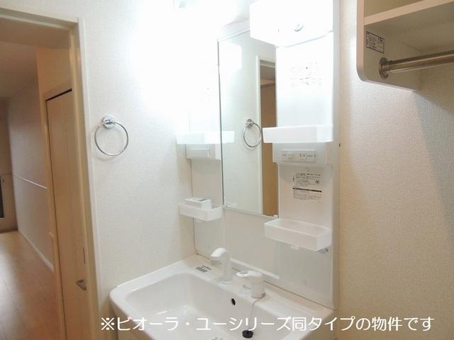 グランデ リーリオ 02010号室の洗面所