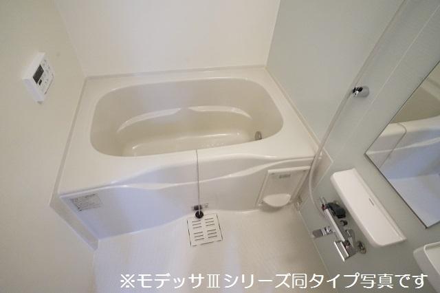 リベルテ ビラージュ 01020号室の風呂