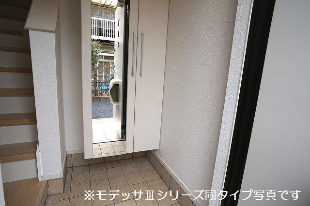 リベルテ ビラージュ 02020号室の玄関