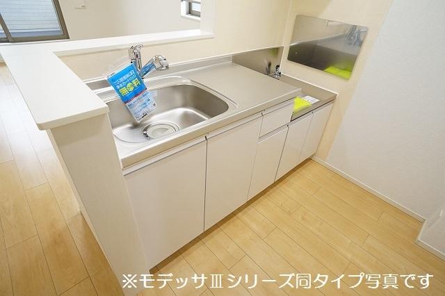 リベルテ ビラージュ 02040号室のキッチン