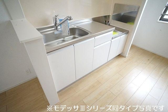 リベルテ ビラージュ 03020号室のキッチン