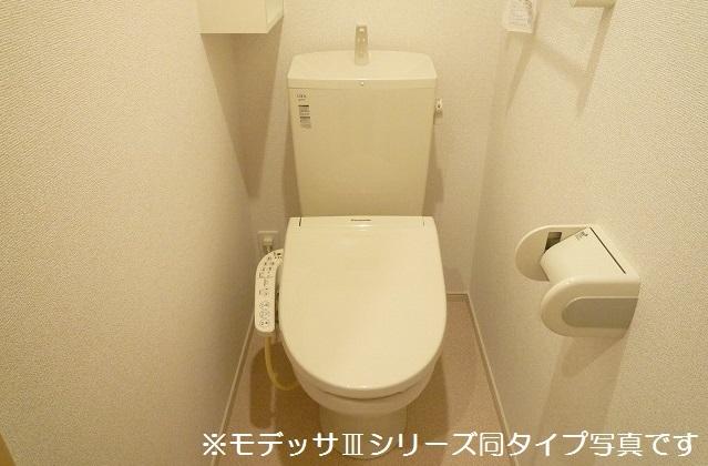 リベルテ ビラージュ 03040号室のトイレ