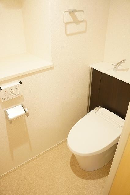 フィオーレ静 02030号室のトイレ