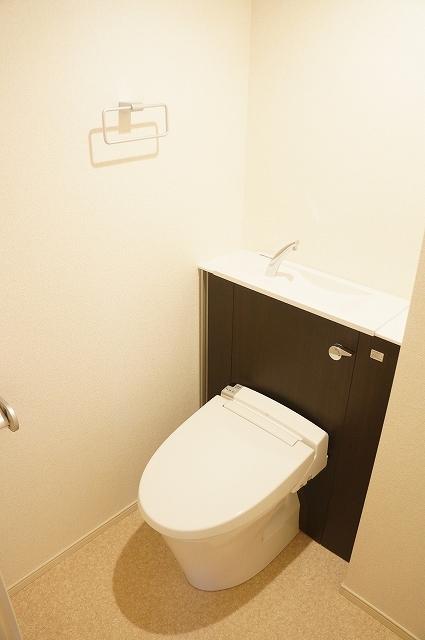 フィオーレ静 03040号室のトイレ