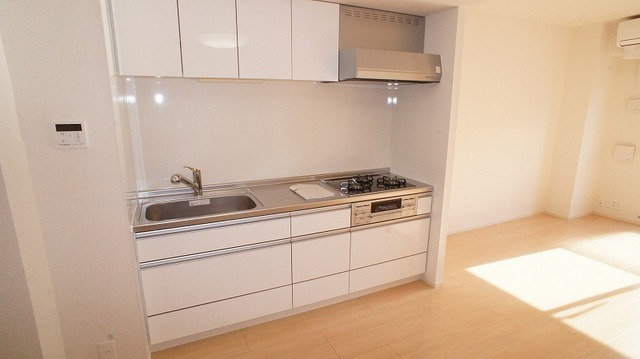 あかやま参番館 02080号室のキッチン