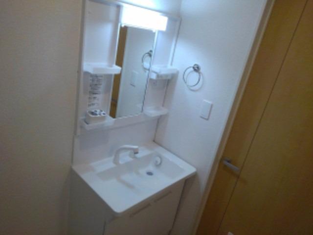 アンジェーヌ・ノア 02010号室の洗面所