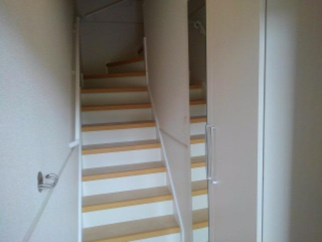 アンジェーヌ・ノア 02040号室の玄関