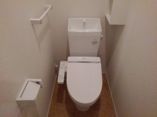 アンジェーヌ・ノア 02040号室のトイレ