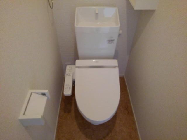 ラフレシール花見Ⅰ 01030号室のトイレ