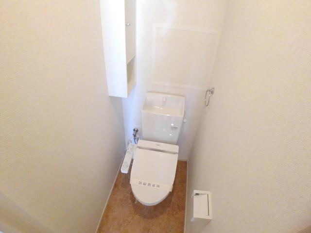 ラフレシール花見Ⅱ 02010号室のトイレ