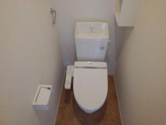 ラフレシール花見Ⅲ 01040号室のトイレ