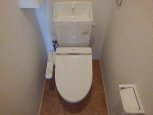 ラフレシール花見Ⅲ 02030号室のトイレ