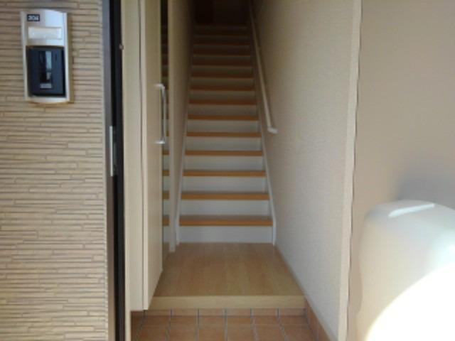 ラ・フォンテ 02040号室の玄関