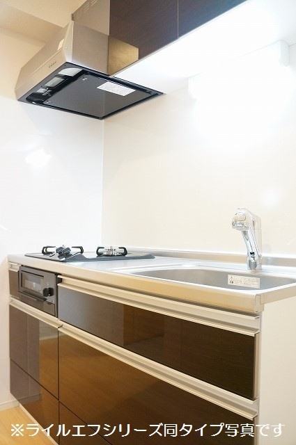 指扇マンション 01030号室のキッチン