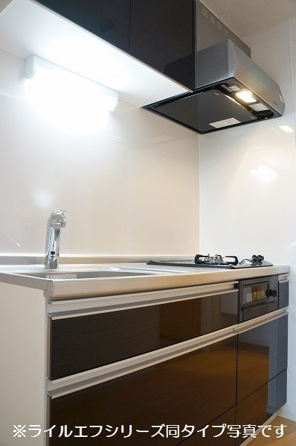 指扇マンション 02040号室のキッチン