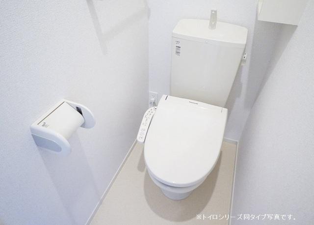 ヴェルディ氷川 01010号室のトイレ
