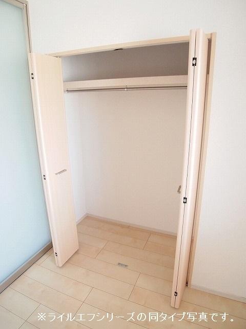 ユニゾン プリムローズⅡ 02030号室の収納