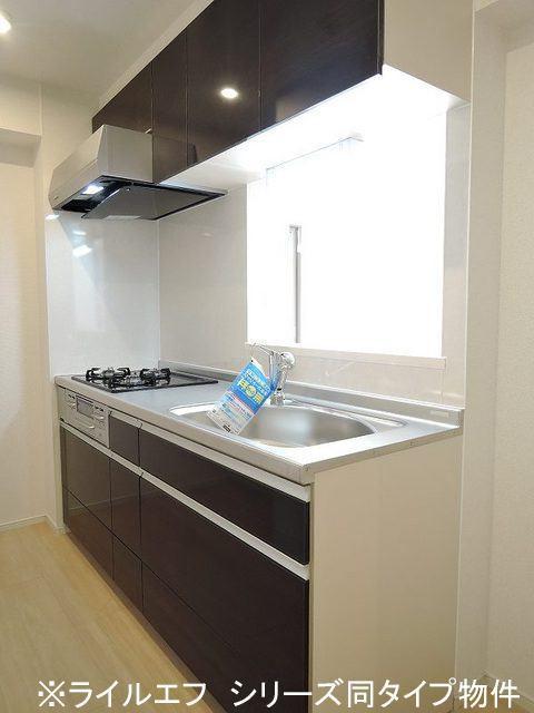 原市マンション 03050号室のキッチン