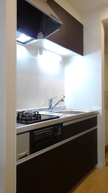 プロムローズST 01020号室のキッチン