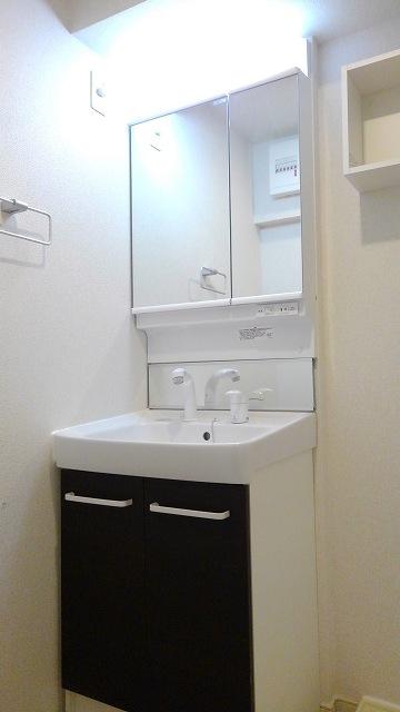 プロムローズST 01020号室の洗面所