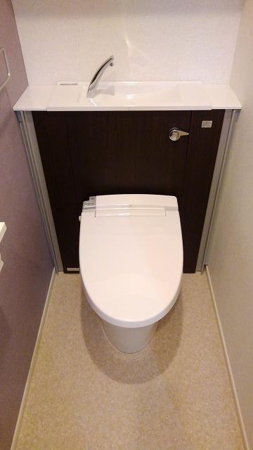 プロムローズST 01020号室のトイレ