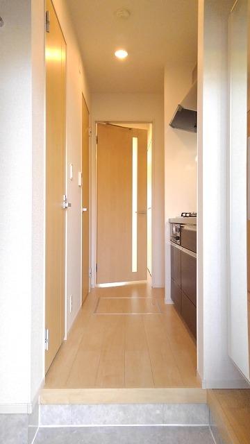 プロムローズST 01020号室の玄関