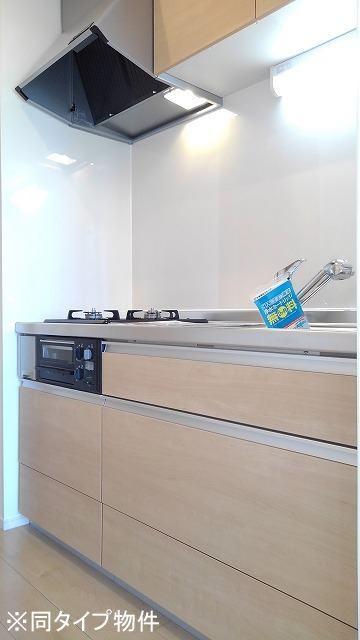 プロムローズST 01030号室のキッチン