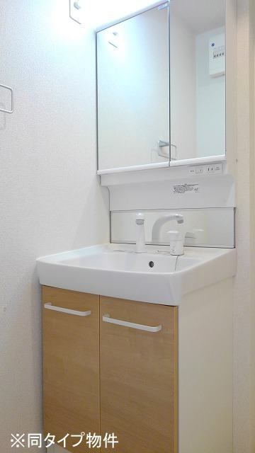 プロムローズST 01030号室の洗面所