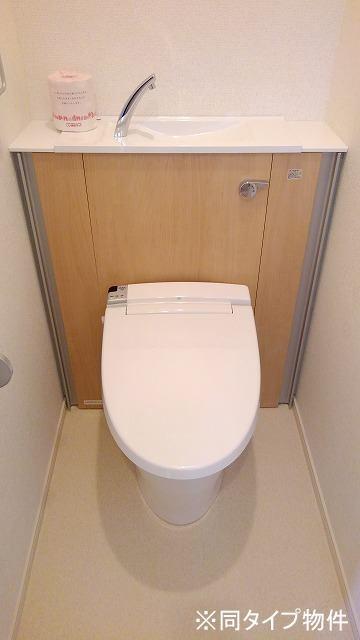 プロムローズST 01030号室のトイレ