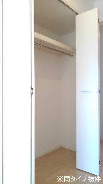 プロムローズST 01030号室の収納