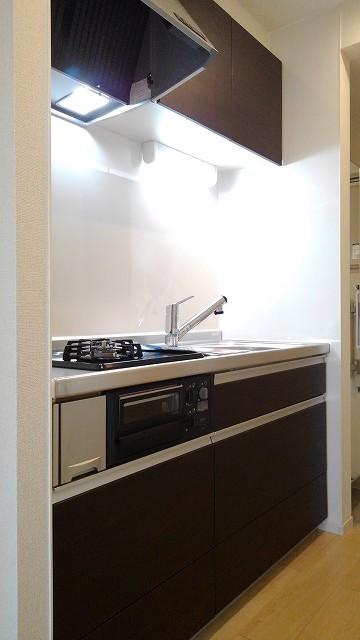 プロムローズST 02030号室のキッチン